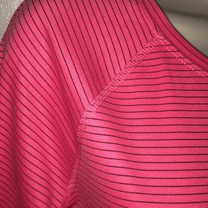 558e582f69568 New Balance Tops - NEW BALANCE NEON PINK LONG SLEEVE DRY FIT